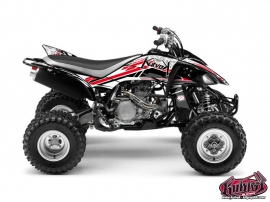 Yamaha 450 YFZ ATV Spirit Graphic Kit Red