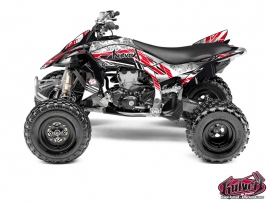 Yamaha 450 YFZ R ATV Spirit Graphic Kit Red