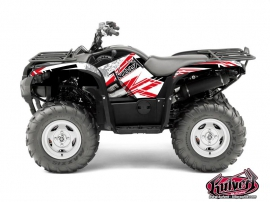 Yamaha 550-700 Grizzly ATV Spirit Graphic Kit Red