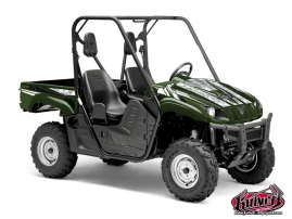 Yamaha Rhino UTV Spirit Graphic Kit Green