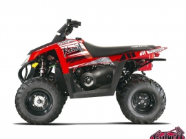 Polaris Scrambler 500 ATV Spirit Graphic Kit