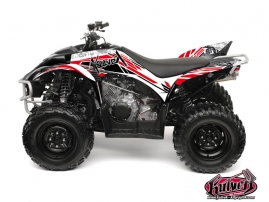 Yamaha 350-450 Wolverine ATV Spirit Graphic Kit Red