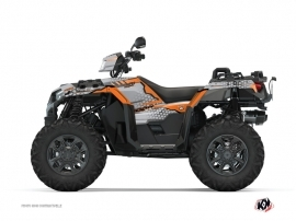 Kit Déco Quad Splinter Polaris 1000 Sportsman XP S Forest Gris Orange