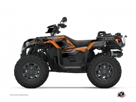 Kit Déco Quad Splinter Polaris 1000 Sportsman XP S Forest Noir Orange