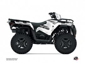 Polaris 570 Sportsman ATV Splinter Graphic Kit White