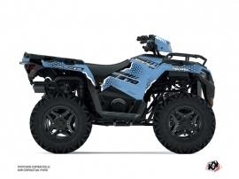 Polaris 570 Sportsman ATV Splinter Graphic Kit Blue