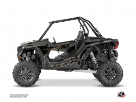 Polaris RZR 1000 Turbo UTV Splinter Graphic Kit Black