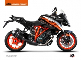 KTM Super Duke 1290 GT Street Bike Spring Graphic Kit Black Orange