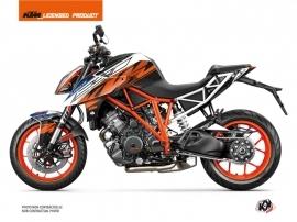 KTM Super Duke 1290 Street Bike Spring Graphic Kit Black Orange