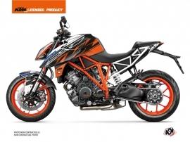 KTM Super Duke 1290 R Street Bike Spring Graphic Kit White Orange