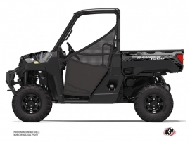 Polaris Ranger 1000 UTV Squad Graphic Kit Black Grey