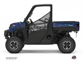 Polaris Ranger 1000 XP UTV Squad Graphic Kit Blue