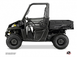 Polaris Ranger 570 UTV Squad Graphic Kit Black Grey