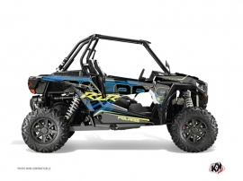 Polaris RZR 1000 Turbo UTV Squad Graphic Kit Blue Yellow