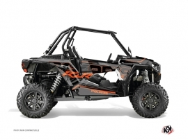 Polaris RZR 1000 Turbo UTV Squad Graphic Kit Grey Orange