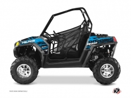 Polaris RZR 800 S UTV Squad Graphic Kit Blue
