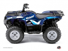 Kit Déco Quad Stage Yamaha 125 Grizzly Bleu