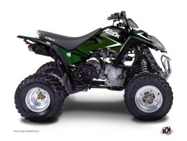 Kymco 250 MAXXER ATV Stage Graphic Kit Black Green