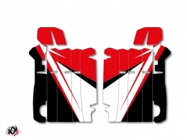 Graphic Kit Radiator guards Stage Honda 250 CRF 2014-2016 Red
