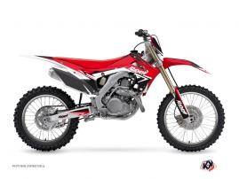 Honda 250 CRF Dirt Bike Stage Graphic Kit Red