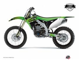 Kawasaki 250 KXF Dirt Bike Stage Graphic Kit Green LIGHT