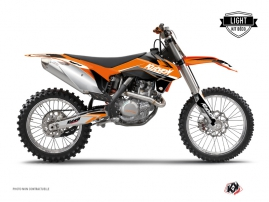 KTM 250 SX Dirt Bike Stage Graphic Kit Orange LIGHT