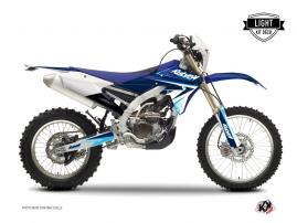 Yamaha 250 WRF Dirt Bike Stage Graphic Kit Blue LIGHT