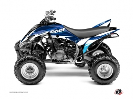 Yamaha 350 Raptor ATV Stage Graphic Kit Blue