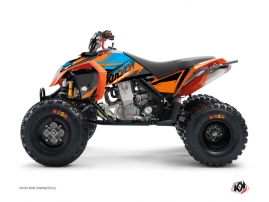 KTM 450-525 SX ATV Stage Graphic Kit Orange Blue