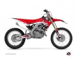 Honda 450 CRF Dirt Bike Stage Graphic Kit Red