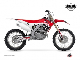 Honda 450 CRF Dirt Bike Stage Graphic Kit Red LIGHT