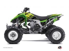 Kawasaki 450 KFX ATV Stage Graphic Kit Green