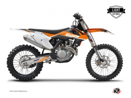 KTM 450 SXF Dirt Bike Stage Graphic Kit Orange LIGHT