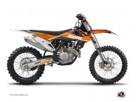 KTM 450 SXF Dirt Bike Stage Graphic Kit Orange