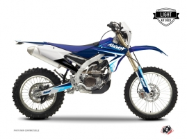 Kit Déco Moto Cross Stage Yamaha 450 WRF Bleu LIGHT