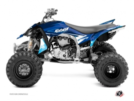 Yamaha 450 YFZ R ATV Stage Graphic Kit Blue