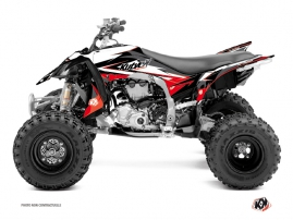 Yamaha 450 YFZ R ATV Stage Graphic Kit Black Red