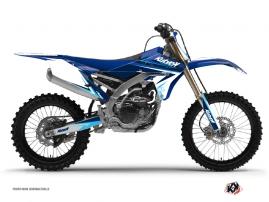 Yamaha 450 YZF Dirt Bike Stage Graphic Kit Blue