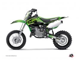 Kawasaki 65 KX Dirt Bike Stage Graphic Kit Green