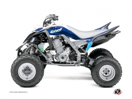 Yamaha 660 Raptor ATV Stage Graphic Kit Blue
