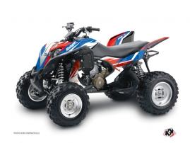 Honda 700 TRX ATV Stage Graphic Kit Blue Red
