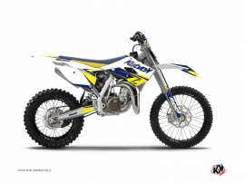 Husqvarna TC 85 Dirt Bike Stage Graphic Kit White Yellow