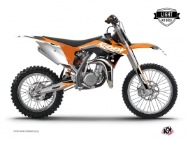 KTM 85 SX Dirt Bike Stage Graphic Kit Orange LIGHT