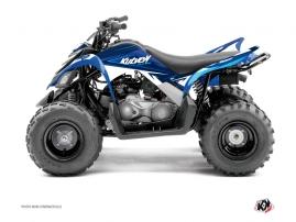 Kit Déco Quad Stage Yamaha 90 Raptor Bleu