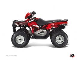 Polaris 90 Sportsman ATV Stage Graphic Kit Red