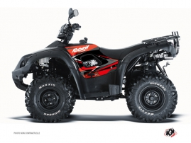 TGB Blade ATV Stage Graphic Kit Red Black