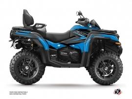 CF MOTO CFORCE 800 XC ATV Stage Graphic Kit Blue Black