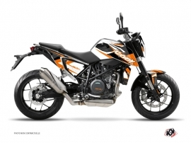 KTM Duke 690 R Street Bike Stage Graphic Kit Orange