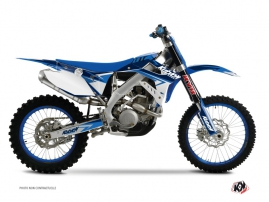 TM EN 125 Dirt Bike Stage Graphic Kit Blue