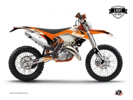 KTM EXC-EXCF Dirt Bike Stage Graphic Kit Orange LIGHT